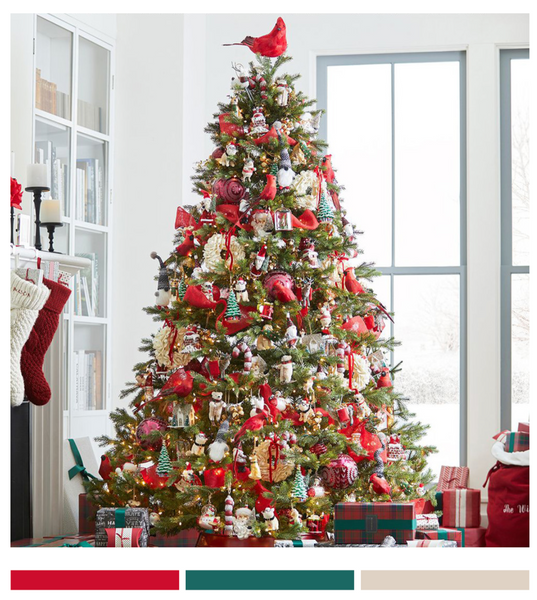 Traditional Christmas Color Palettes