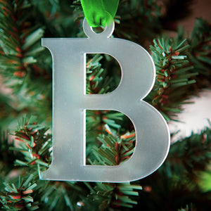 Acrylic Letter Ornament