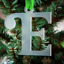 Load image into Gallery viewer, Acrylic Letter Ornament