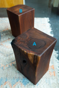 Black Walnut Timber Side Table