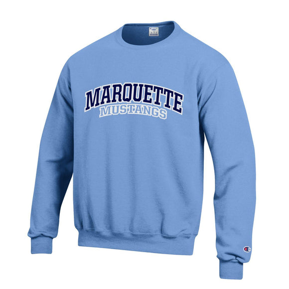 MHS Powerblend Crewneck Sweatshirt - Carolina Blue