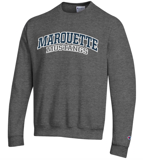 MHS Powerblend Crewneck Sweatshirt - Dark Grey