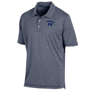 MHS Stadium Stripe Polo