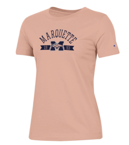 Women's University Tee - Blushing Peach