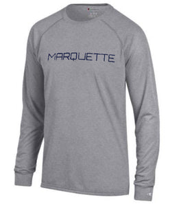 Marquette Long Sleeve Athletic Tee