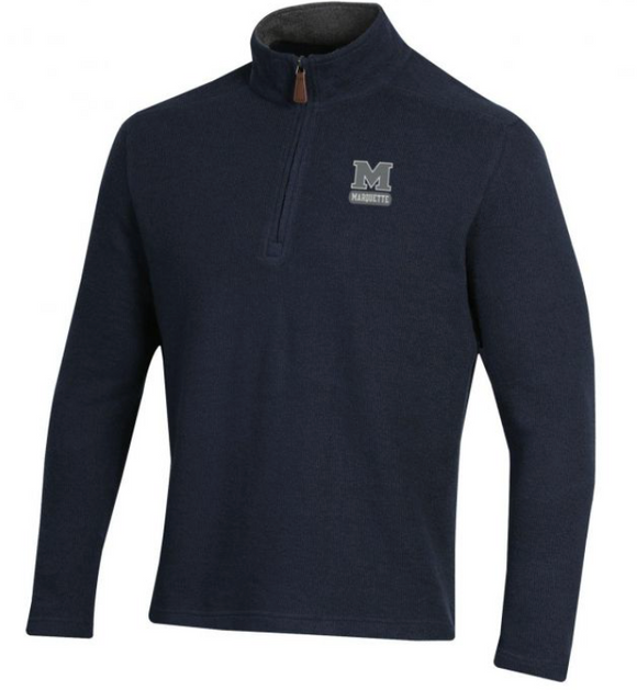 MHS Seaport 1/4 Zip Knit Pullover
