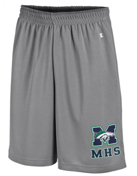 Men's MHS Mesh Shorts - Grey