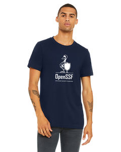 The OpenSSF Concert Tee (Straight Fit) (Color: Navy)