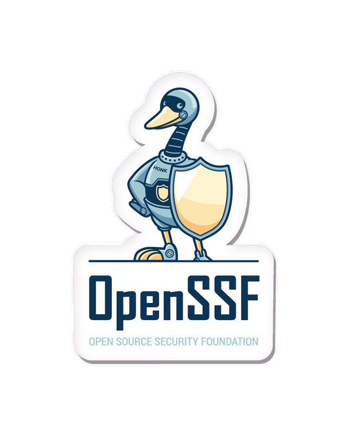OpenSSF Stacked Decal