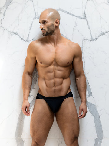 Noir Sport Brief