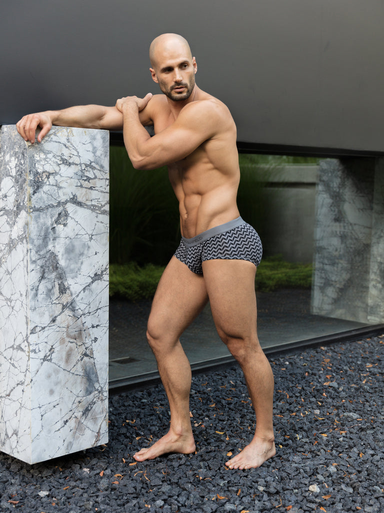 Classic Chevron Hybrid Trunk | Grey | NEW