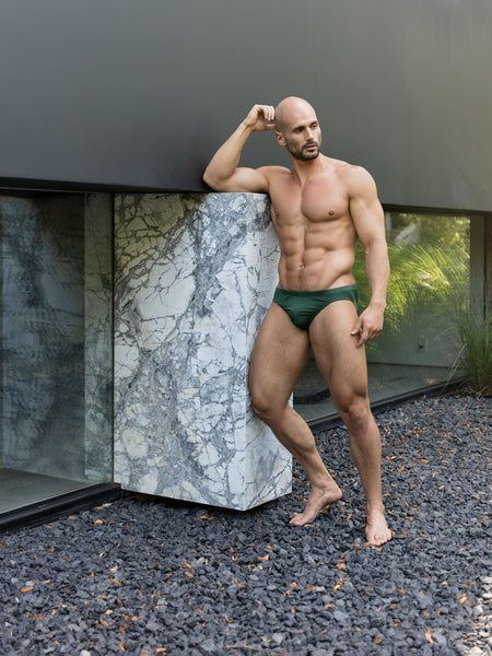 Mountain Green Bikini Brief