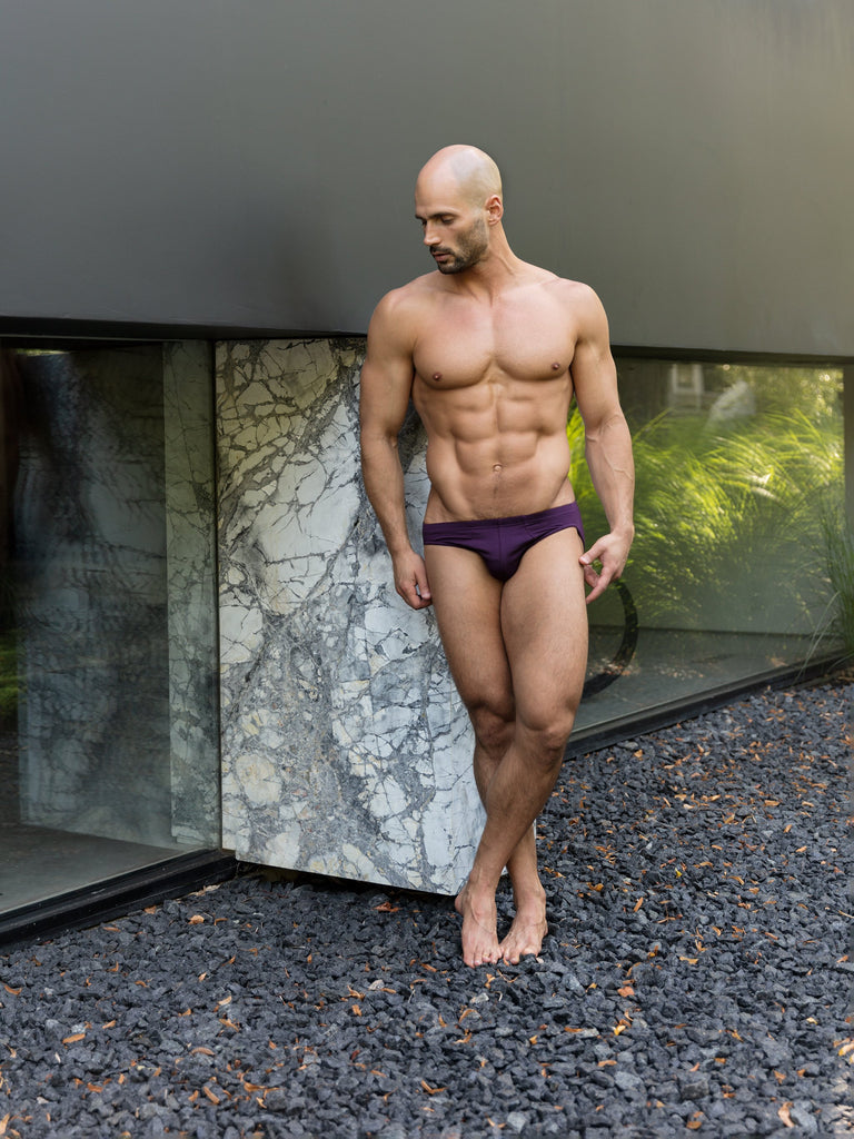 Deep Purple Bikini Brief