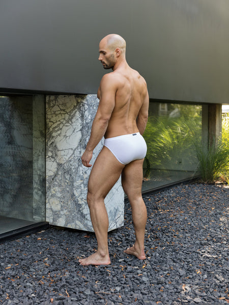 White Bikini Brief