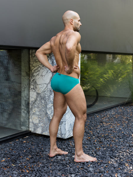 Aqua Bikini Brief | NEW