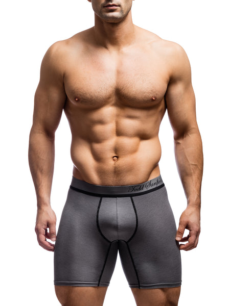 Signature Boxer Brief - Charcoal