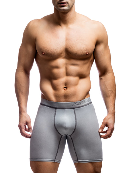 Signature Boxer Brief - Light Grey