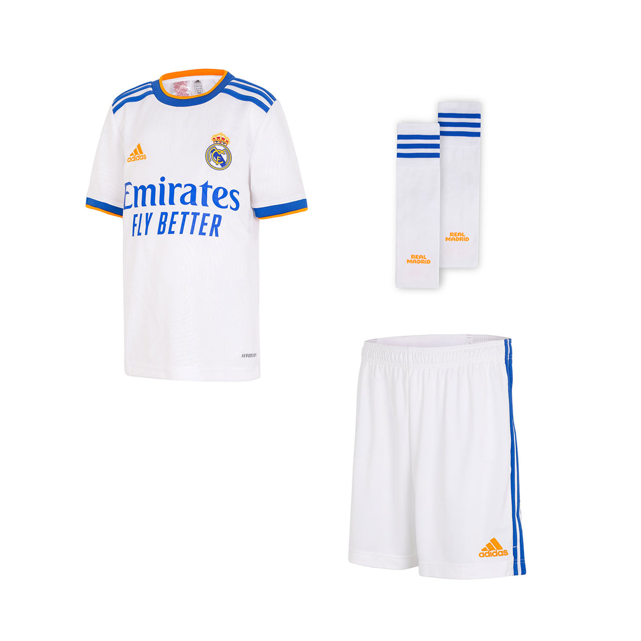 First, Second and Third Shirts and Uniforms - Real Madrid CF : EU Shop