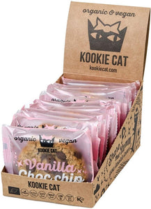Galleta de Vainilla y Gotas de Chocolate 50g. KOOKIE CAT Galletas ecológicas - Planeta Bio
