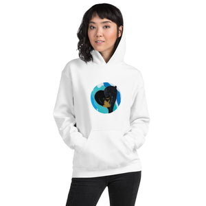 Open image in slideshow, Black Heart - Unisex Hoodie