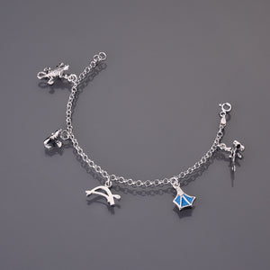 Galapagos charms bracelet