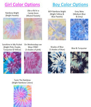 Load image into Gallery viewer, Girl's Tie Dye Sweatsuit w Crew Neck