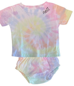 Infant Tshirt & Diaper Cover Set (personalization is included)
