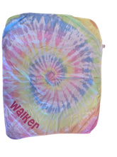 Load image into Gallery viewer, Tie-Dyed Baby Blanket (personalization included)