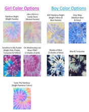 Load image into Gallery viewer, Tie Dye Baby Swaddle