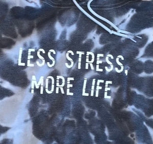 "Inspired by Summer House: ""Less Stress, More Life"" Pullover Hoodie"