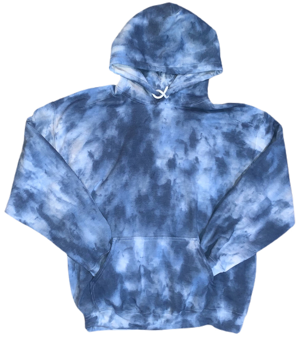 Influenced by Krista - Adult Tie-Dyed Pullover Hoodie