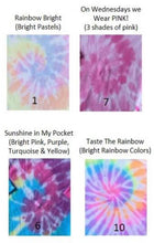 Load image into Gallery viewer, Mommy and Me Tie Dye Crew Neck Sweatshirts