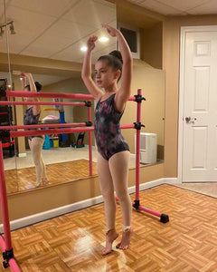 Custom, Tie-Dyed Leotard