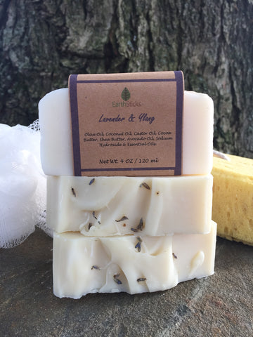 Lavender Moisturizing Soap 4.5-5.5 oz. Bar