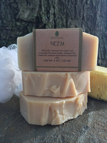 Neem Soap 4.5-5.5 ounce Bar