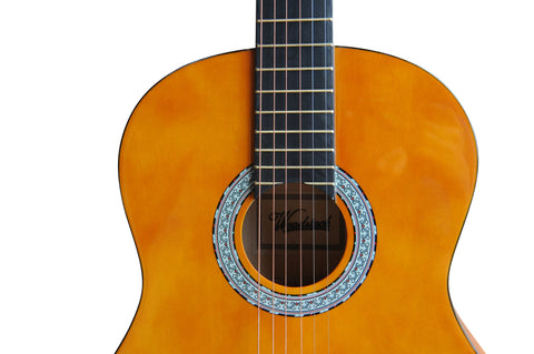 Woodstock 39 Acoustic Guitar with Bag - Orange""