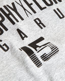 FLGNTLT X TARGA TROPHY - Megarun - Capsule Collection - Gray Tee