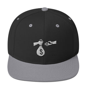 """Pass the Bag"" Snapback Hat"