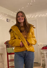 Load image into Gallery viewer, SUNSHINE YELLOW Puffer Jacket!