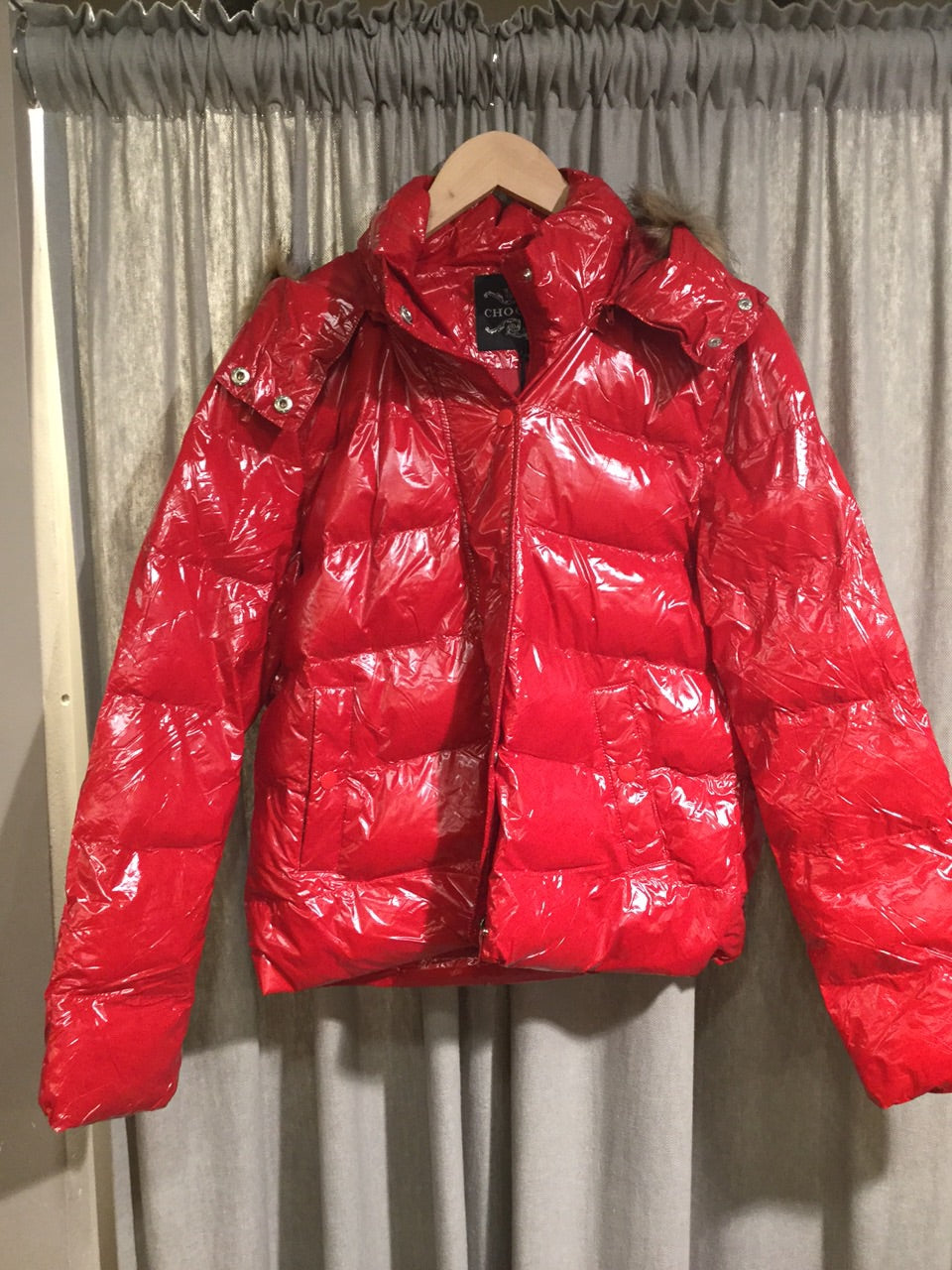 LOVE RED Puffer Jacket ❤️