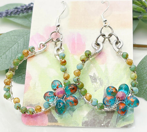 Freesia Bloom Earrings