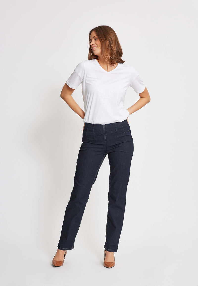 Betty Regular ML - Dark Blue Denim