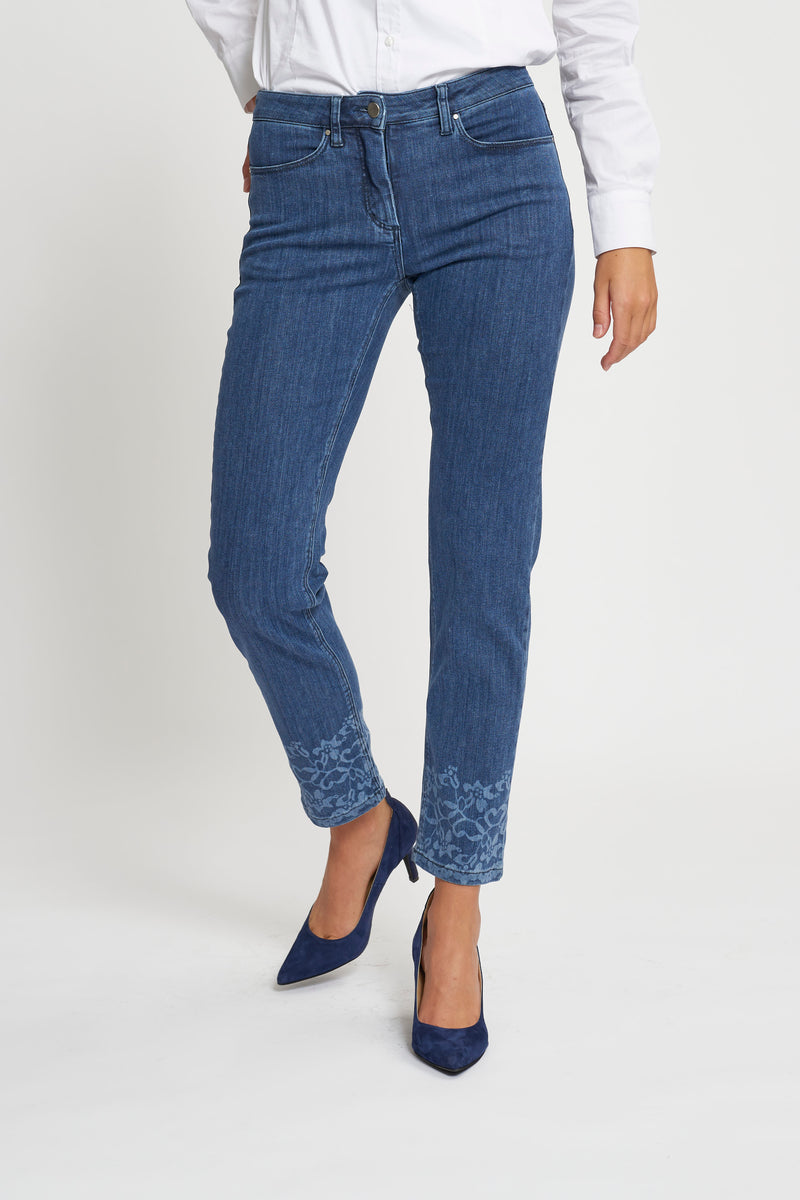 Charlotte Lazer Regular ML - Medium Blue Denim