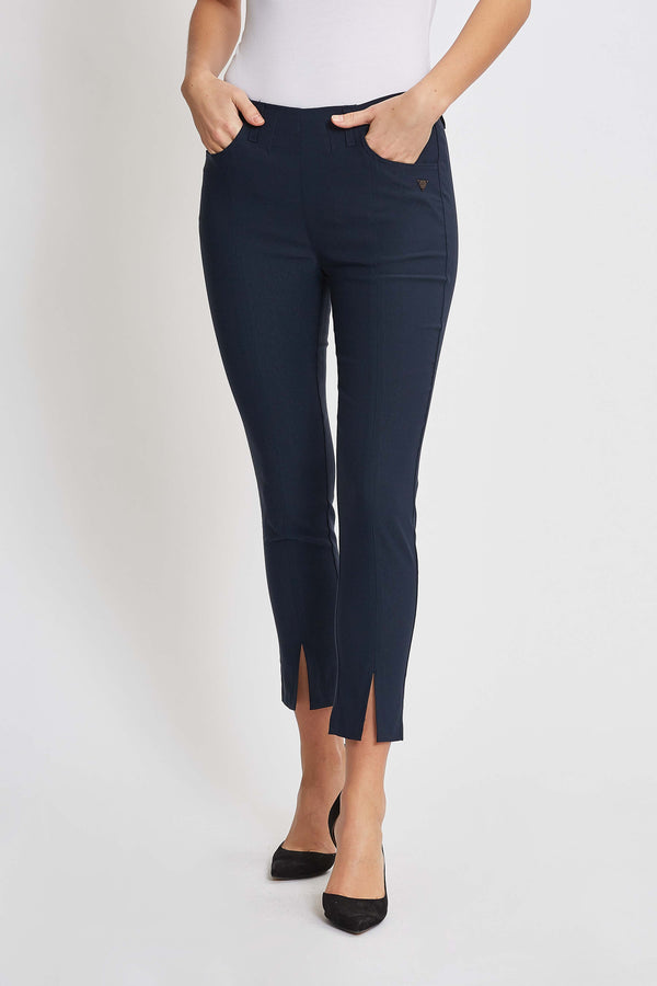 Grace FS Slim Crop - Navy