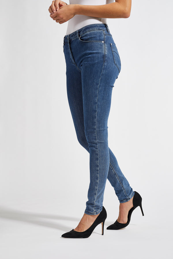 Olivia Skinny ML - Medium Blue Denim