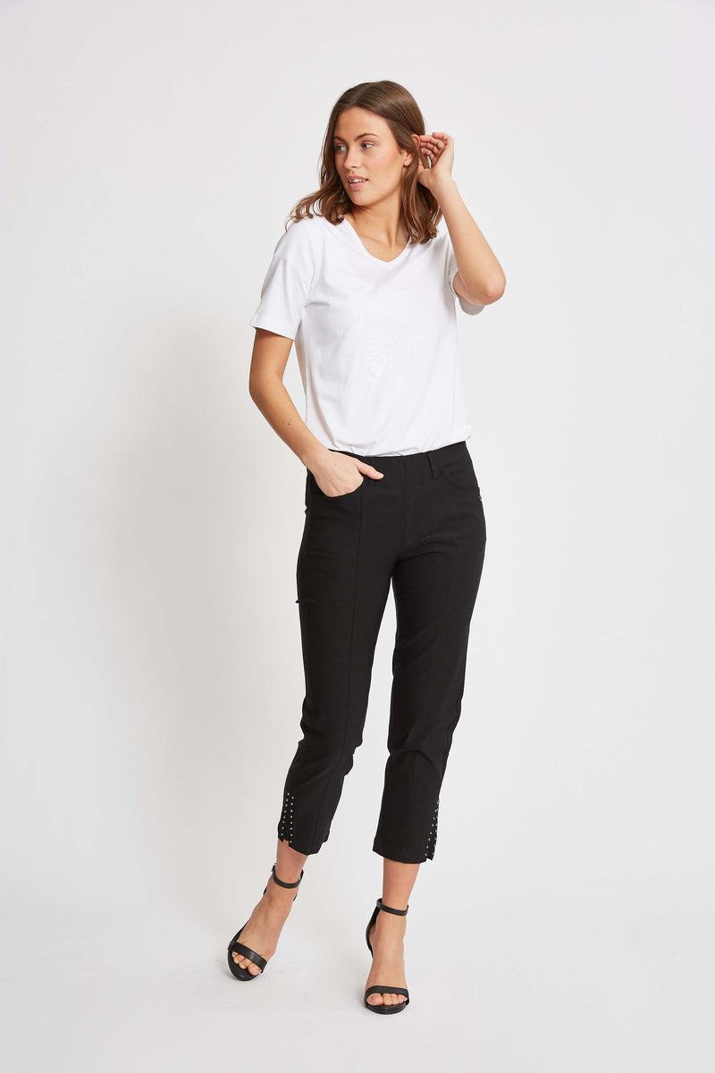 Pollyanna Regular Crop - Black