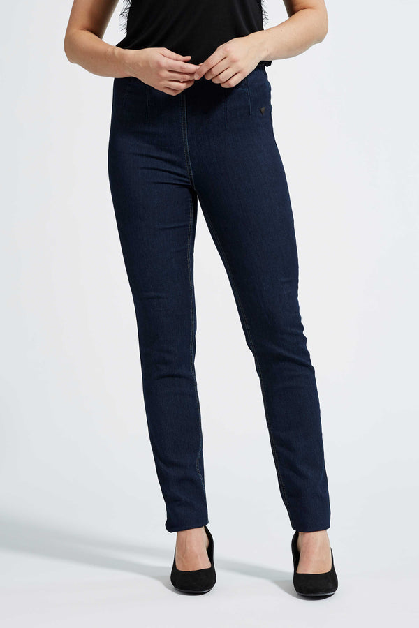 Vicky Slim ML - Dark Blue Denim