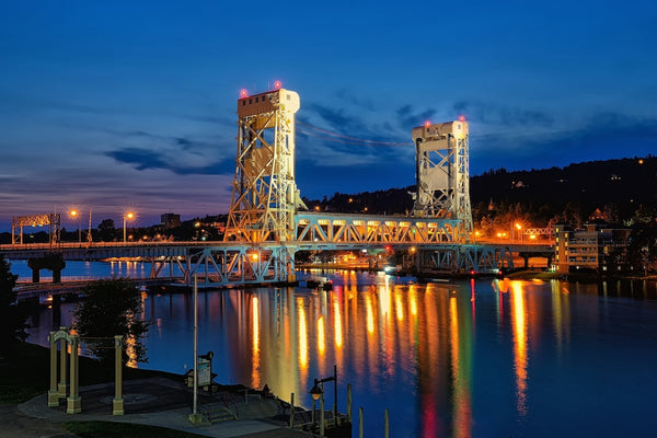 Houghton Lift Bridge Upper Michigan