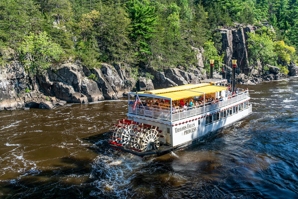 Princess River Boat on St Croix River Taylor Falls Minnesota