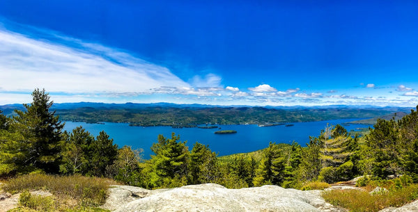 Summit of Buck Mountain at Lake George RV Park New York